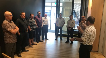 3 image from Northland Chapter Site Tour of ASB Whangarei, March 2018 gallery